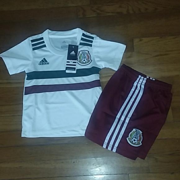287f6d650e2 Mexico Kids Soccer Mini Kit
